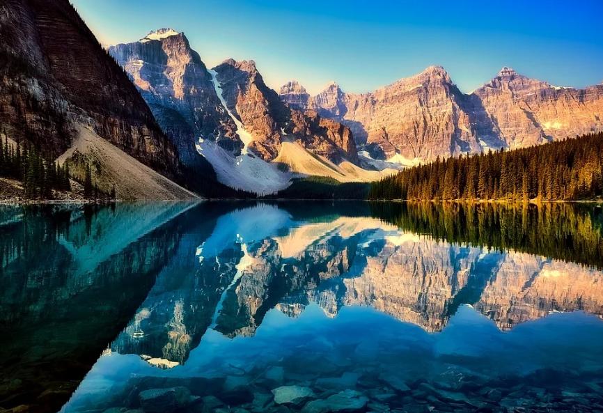 какое озеро самое красивое
