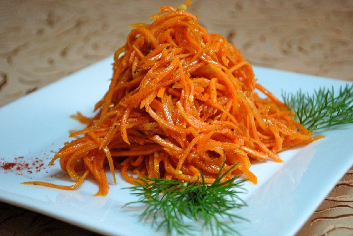 морковь по корейски рецепт с приправой