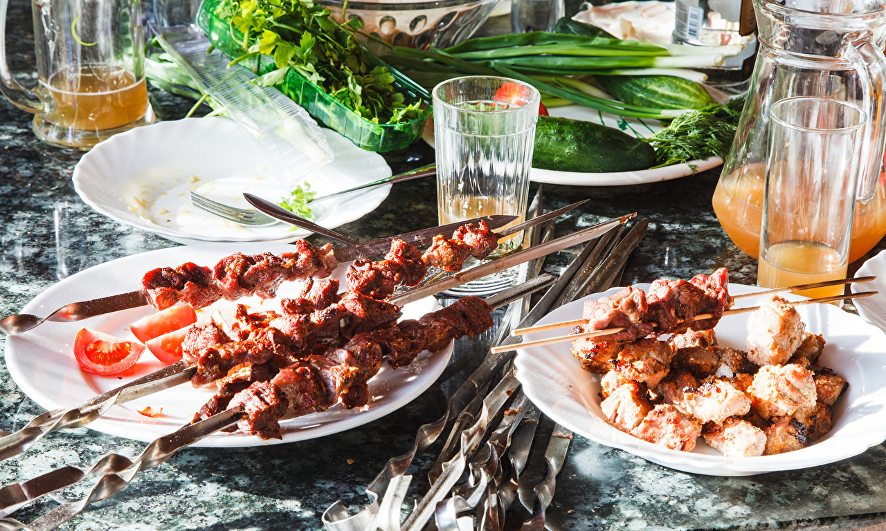 как замариновать свиной шашлык