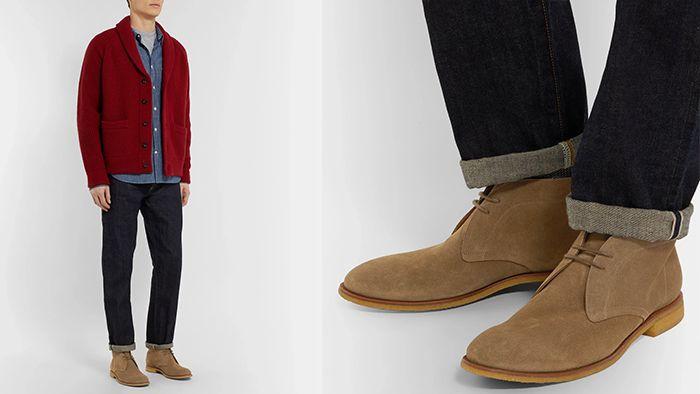 мужской классический обувь