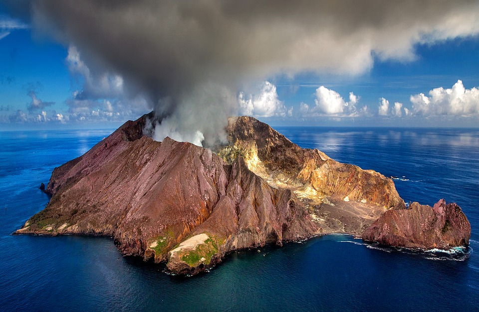 новая зеландия вулкан