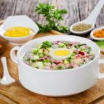 Рецепт окрошки от Леси Никитюк: вкусный рецепт летнего супа