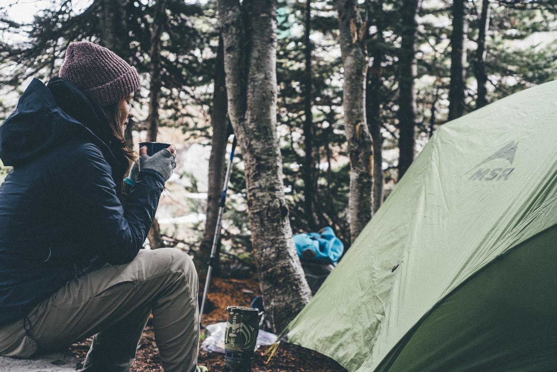 что взять в поход с палатками