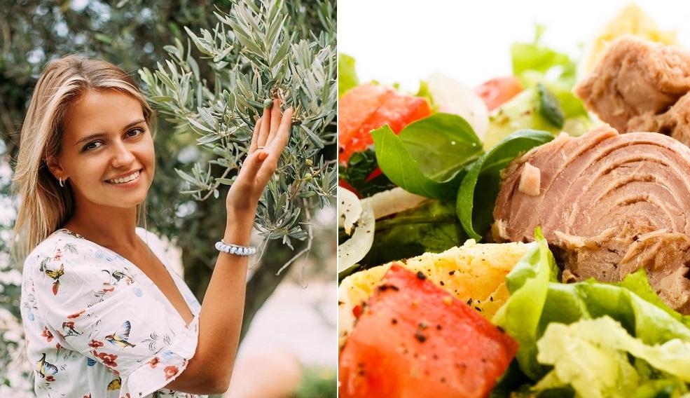 Салат с тунцом: рецепт от Юлии Панковой