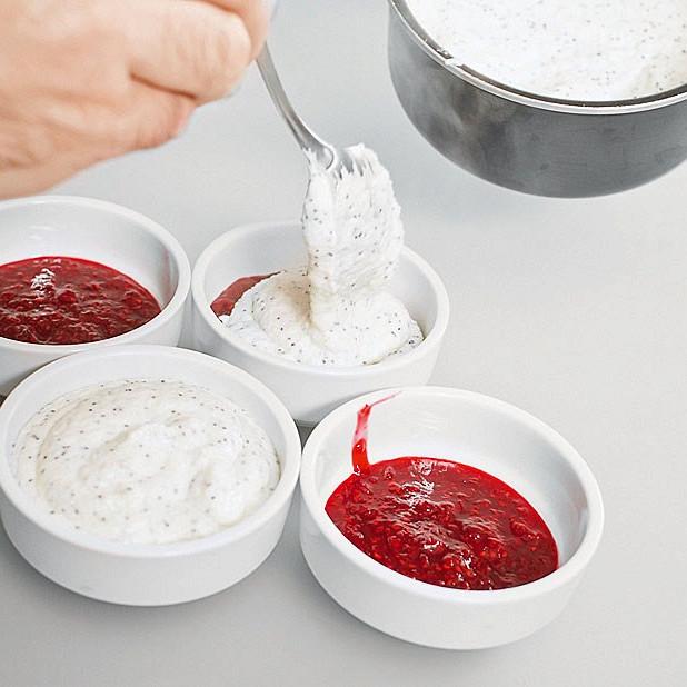 малиновый пудинг рецепт с фото пошагово