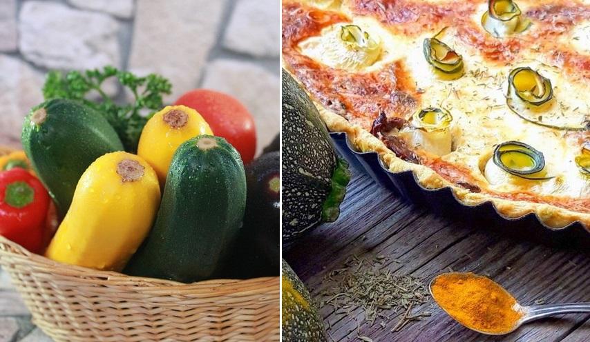 Провожаем лето вкусно: рецепт пирога с сыром и цуккини от Юлии Панковой