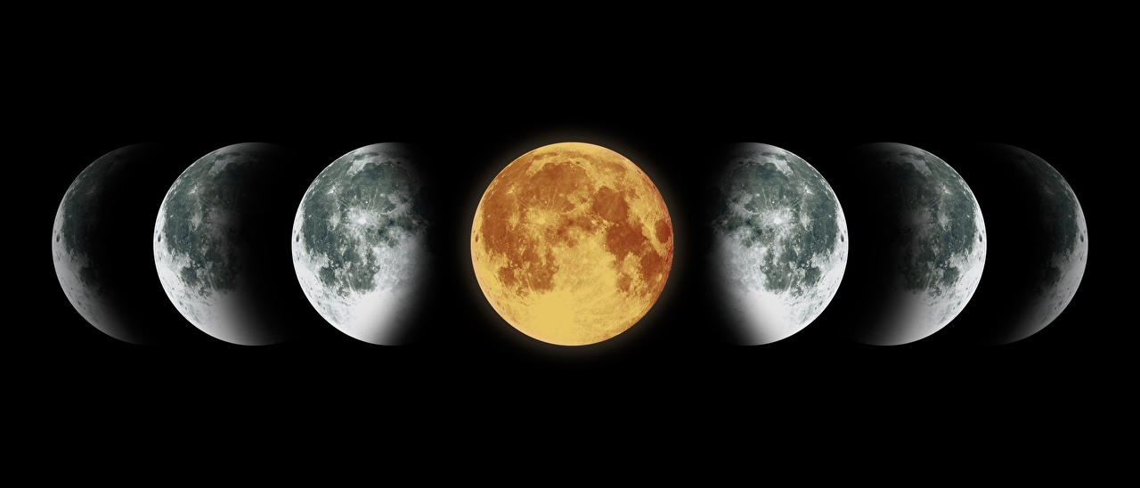 16 октября луна находится в фазе новолуния