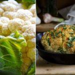 Запеченная цветная капуста: рецепт от Юлии Панковой