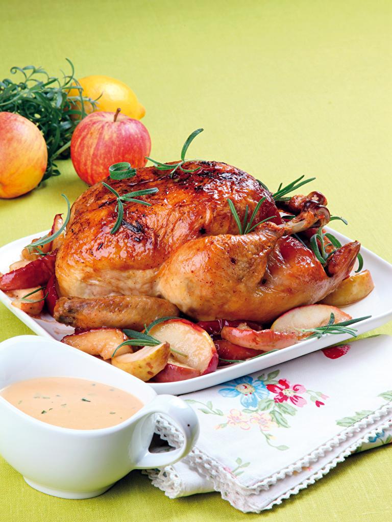 фаршированная курица пошагово