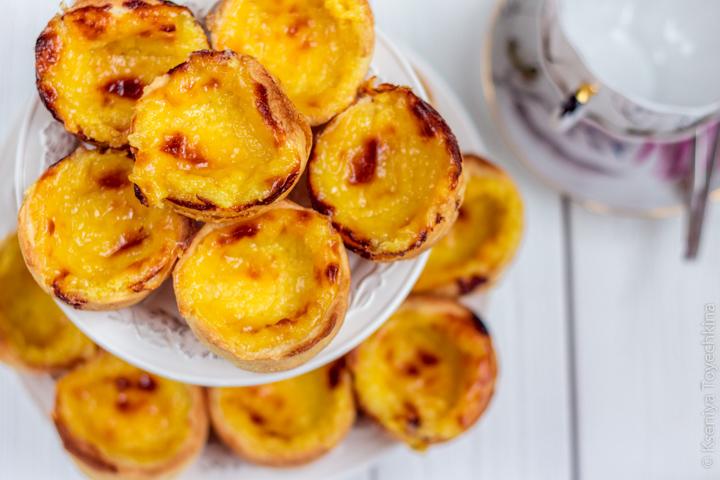 пирожное паштел-де-ната