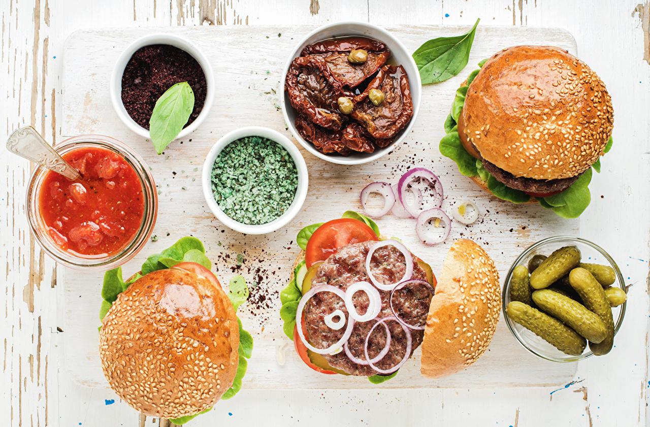 вегетарианский бургер