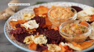 овощные чипсы рецепт