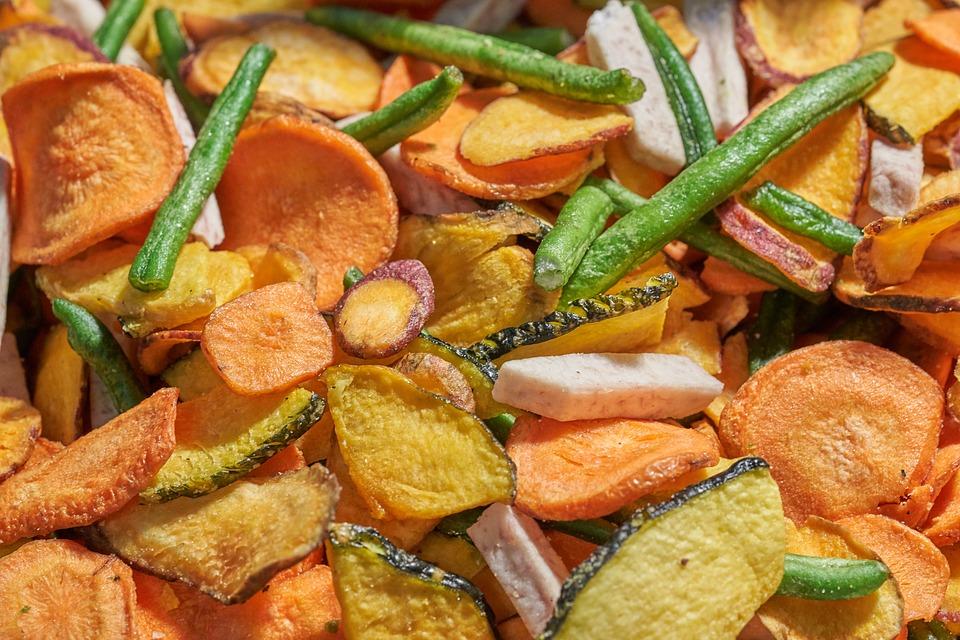 Овощные чипсы: вкусный рецепт от Григория Германа