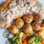 Шницель в сырно-грибном кляре: оригинальная идея для ужина