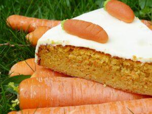 простой вкусный пирог морковный