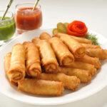 Роллы из блинов по-азиатски: оригинальный рецепт от Григория Германа