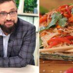 Фунчоза с рыбой и овощами: необычный постный рецепт