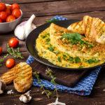 Омлет с грибами и тофу: вкусный рецепт от Тани Брык