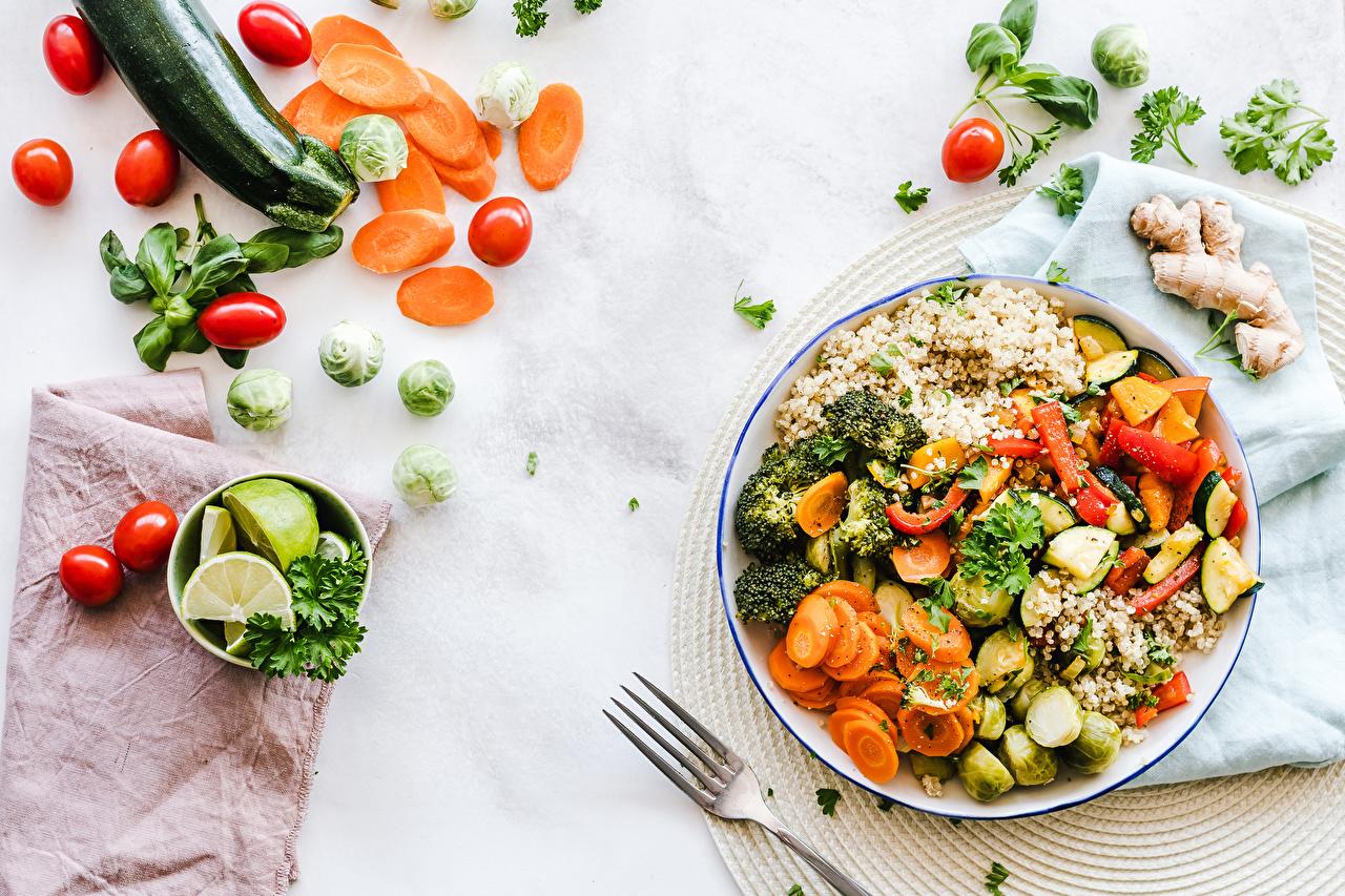 салат из теплых овощей