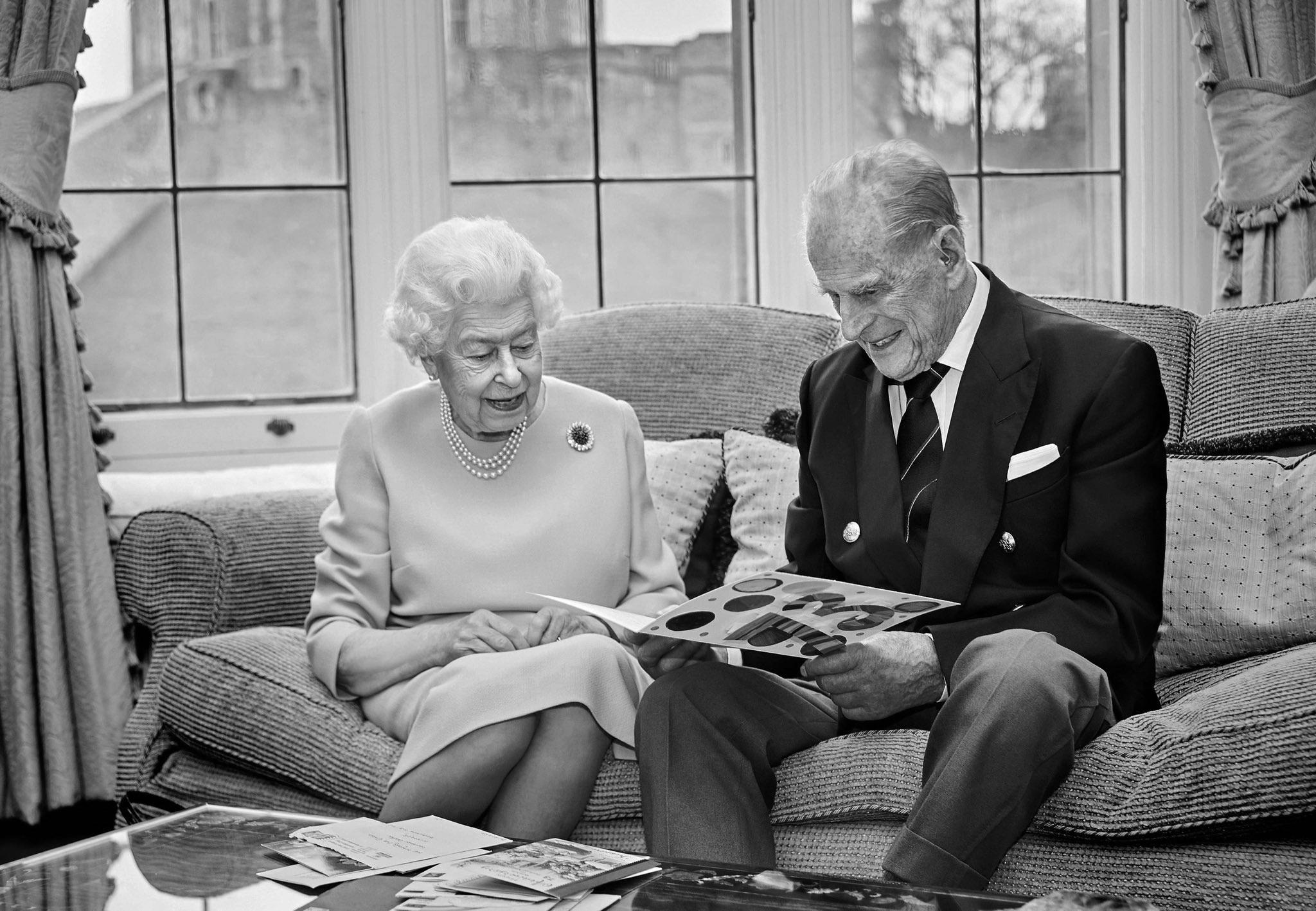 Умер принц Филипп, муж королевы Елизаветы II…