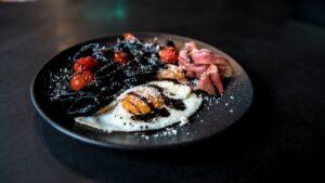 черная паста рецепт