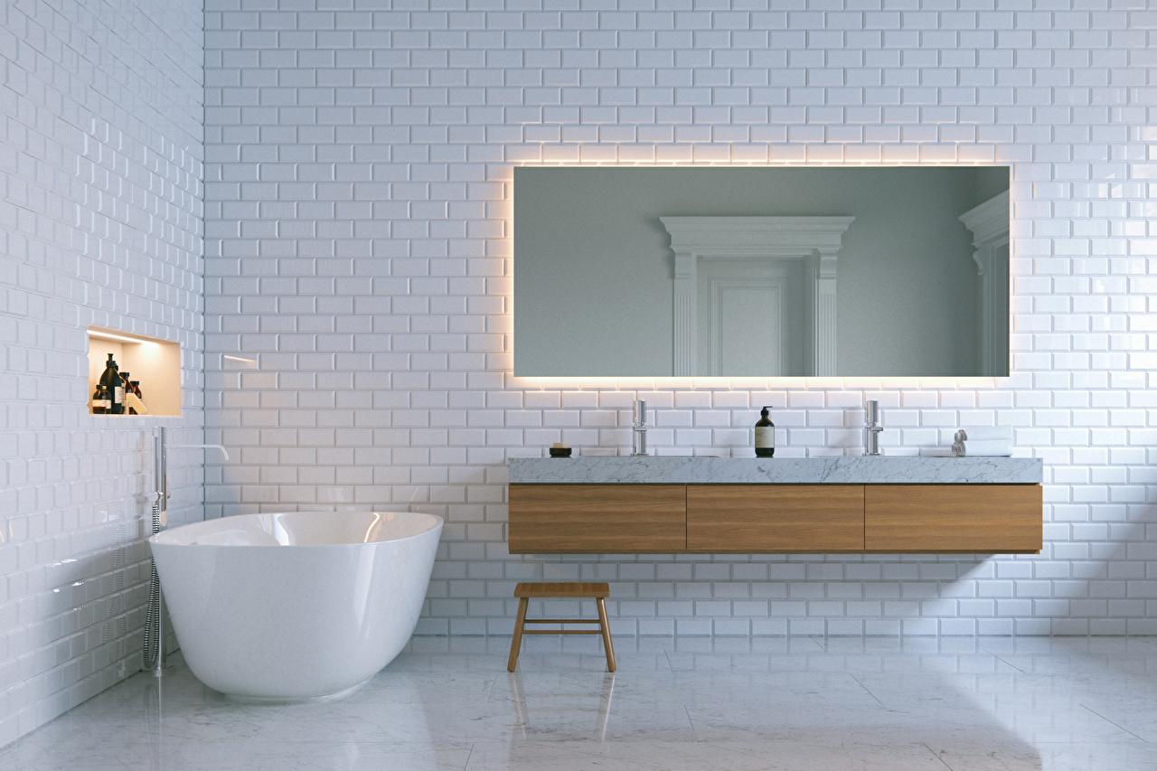 пространство в ванной