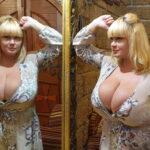 Обладательница 15 размера груди Мила Кузнецова призналась, что бюст  продолжает расти